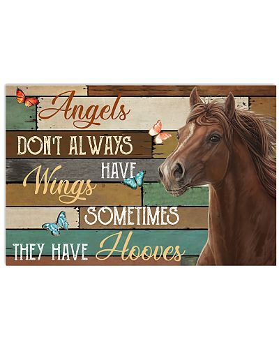 Horse Angels Don't Always Have Wings