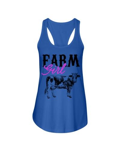 Cow Farm Girl