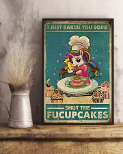 Unicorn I Just Baked You Some  16x24 Poster lifestyle-poster-3