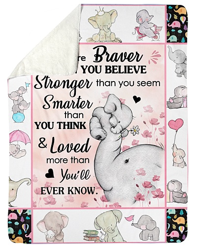 Elephant You Are Braver Than You Beilive Stronger
