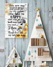 Unicorn You Are My Sunshine 16x24 Poster lifestyle-holiday-poster-2