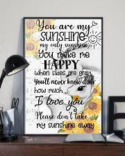 Unicorn You Are My Sunshine 16x24 Poster lifestyle-poster-2
