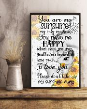 Unicorn You Are My Sunshine 16x24 Poster lifestyle-poster-3