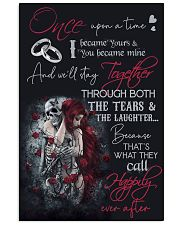 Skull Once Upon A Time  16x24 Poster front