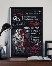 Skull Once Upon A Time  16x24 Poster lifestyle-poster-2