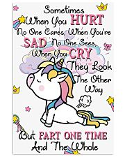 Unicorn Sometime When You Hurt 16x24 Poster front