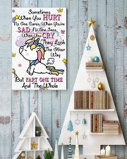 Unicorn Sometime When You Hurt 16x24 Poster lifestyle-holiday-poster-2
