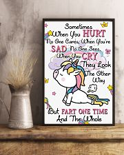 Unicorn Sometime When You Hurt 16x24 Poster lifestyle-poster-3