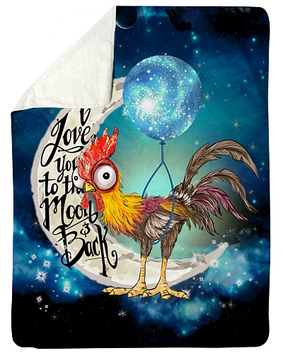 Chicken I Love You To The Moon And Back