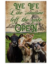 Cow Live Life Like Someone 16x24 Poster front
