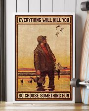 Duck Hunting 16x24 Poster lifestyle-poster-4