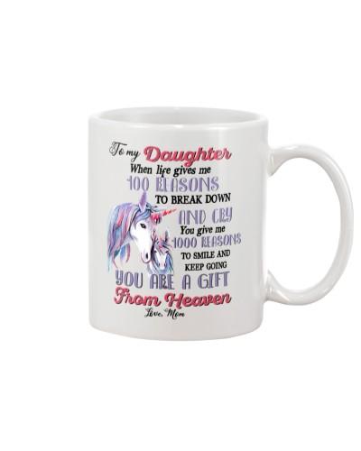 Unicorn To My Daughter