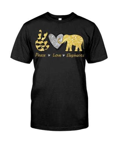 Elephant Peace Love Elephants