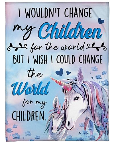 Baby Unicorn I Wouldn't Change My Children