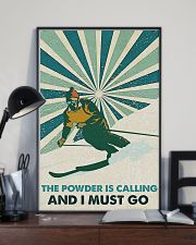 Skiing The Powder Is Calling 16x24 Poster lifestyle-poster-2