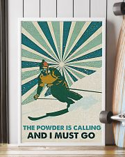 Skiing The Powder Is Calling 16x24 Poster lifestyle-poster-4