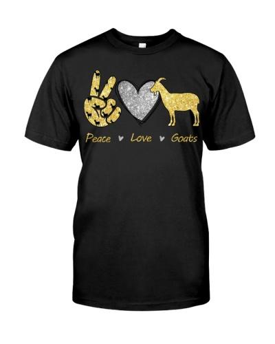 Goat Peace Love Goat
