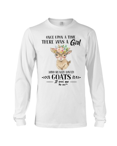 Goat Once Upon A Time There Was A Girl Loved Goat