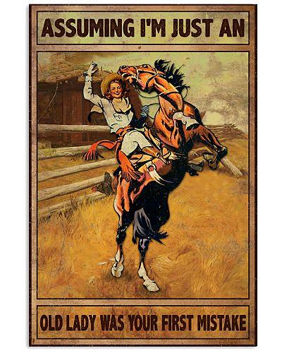 Horse Assume I'm Just An