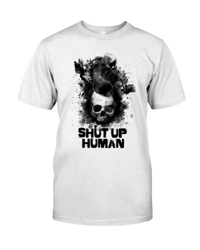 Cat Skull Shut Up Human