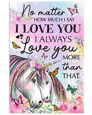 Unicorn No matter  16x24 Poster front