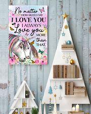 Unicorn No matter  16x24 Poster lifestyle-holiday-poster-2