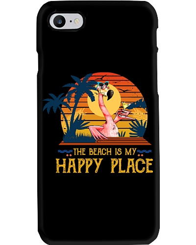 Flamingo The Beach Is My Happy Place