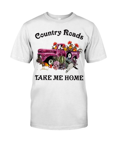 Chicken Country Road Take Me Home