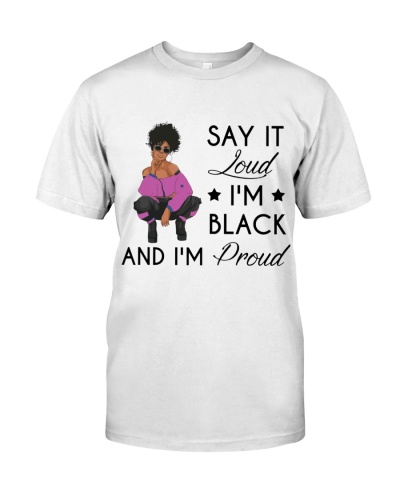 Afro I'm Black and I'm Proud