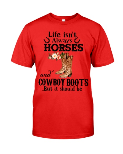Horse Life isn't always horse and cowboy boots