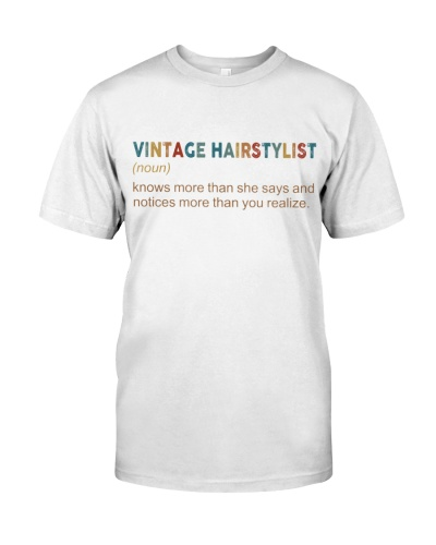 Hairstylist Vintage knows more than she says