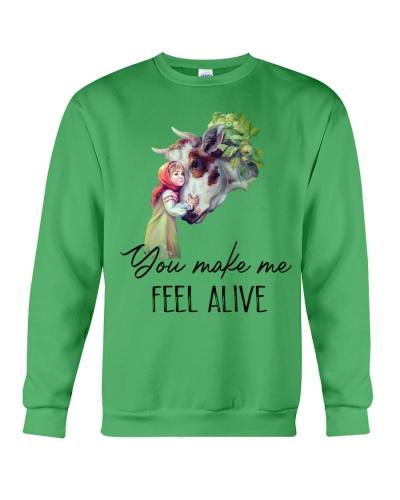 Cow You Make Me Feel Alive