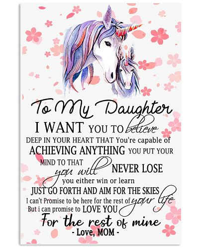 Unicorn To My Daughter I Want You Belive