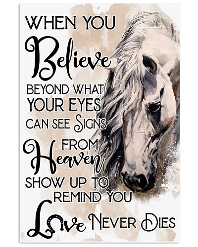 Horse When You Believe Beyond Your Eye