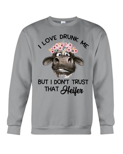 Cow I Love Drunk Me
