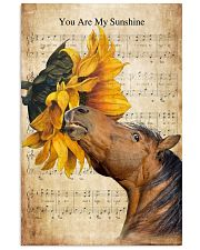 Horse You Are My Sunshine 16x24 Poster front