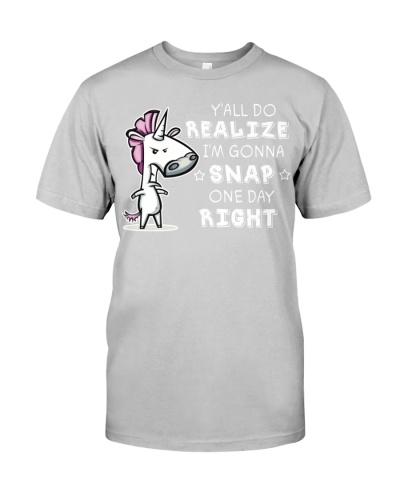 Unicorn Y'all Do Realize