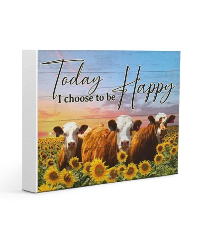 Cow Today I Choose To Be Happy