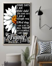 Hippie Somedays I Am Wild Child And Some Days 16x24 Poster lifestyle-poster-1