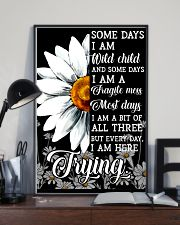 Hippie Somedays I Am Wild Child And Some Days 16x24 Poster lifestyle-poster-2