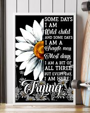 Hippie Somedays I Am Wild Child And Some Days 16x24 Poster lifestyle-poster-4