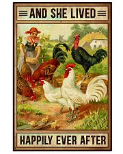 Chicken And She Lived  16x24 Poster front