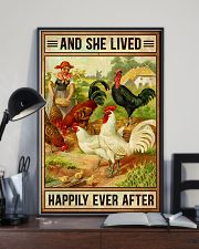 Chicken And She Lived  16x24 Poster lifestyle-poster-2