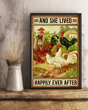 Chicken And She Lived  16x24 Poster lifestyle-poster-3
