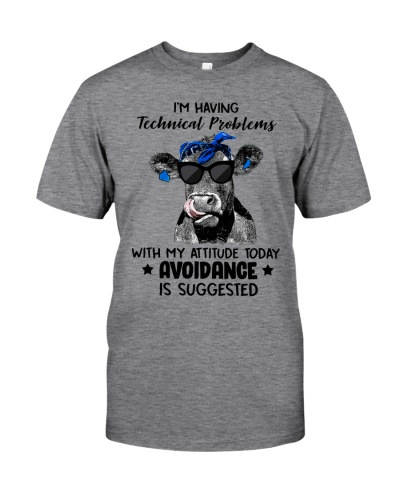 Cow Having Technical