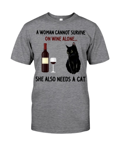 A Woman Cannot Survive on Wine Alone She Also Need