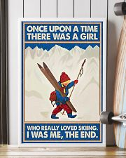 Skiing Once upon a time 16x24 Poster lifestyle-poster-4