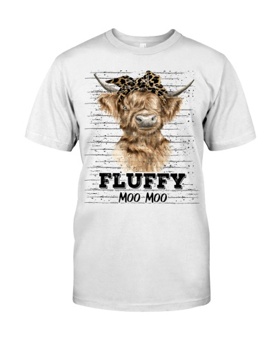 Cow Fluffy Moo Moo