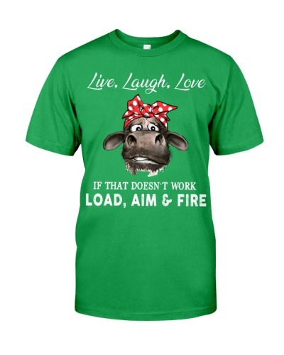 Cow Live Love Laugh If That Doesn't Work