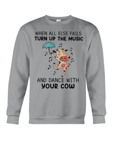 Cow When All Else Fails Turn Up The Music